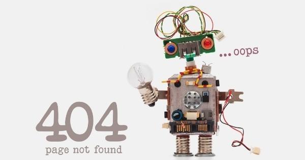 עמוד 404 מותאם אישית